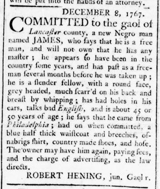 Mar 24 - Virginia Gazette Rind Slavery 3