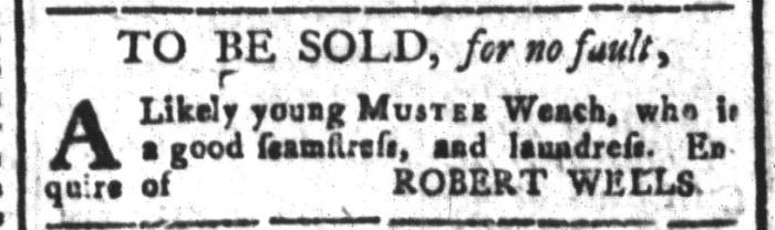 Mar 25 - South-Carolina and American General Gazette Slavery 4