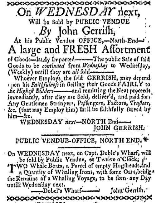 Mar 28 - 3:28:1768 Boston-Gazette