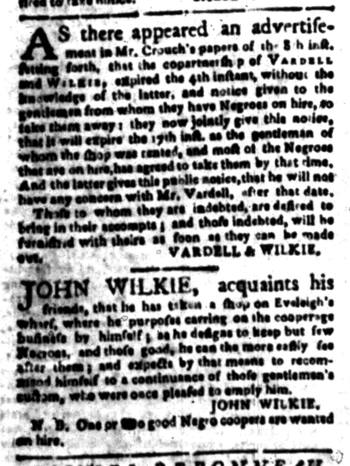 Mar 28 - South Carolina Gazette Slavery 7