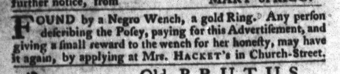 Mar 29 - South-Carolina Gazette and Country Journal Slavery 6
