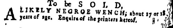 Mar 31 - Pennsylvania Gazette Supplement Slavery 3
