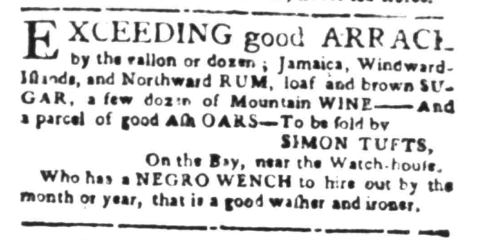 Apr 11 - South Carolina Gazette Slavery 11