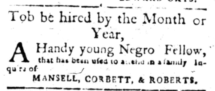 Apr 11 - South Carolina Gazette Slavery 5