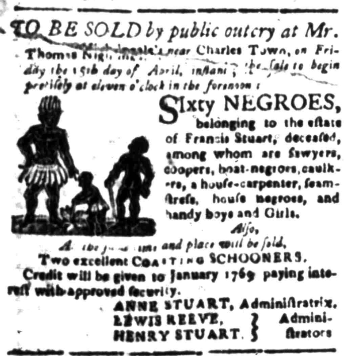 Apr 11 - South Carolina Gazette Slavery 7