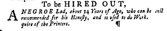 Apr 14 - Pennsylvania Gazette Slavery 2