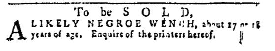 Apr 14 - Pennsylvania Gazette Slavery 5