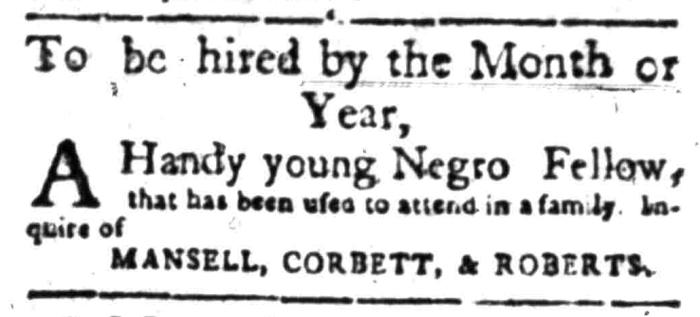 Apr 18 - South Carolina Gazette Slavery 11