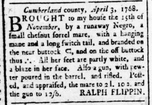 Apr 21 - Virginia Gazette Rind Slavery 3