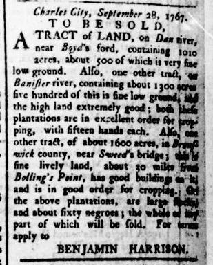 Apr 21 - Virginia Gazette Rind Slavery 4