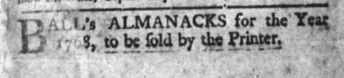 Apr 5 - 4:5:1768 South-Carolina Gazette and Country Journal
