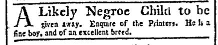 May 2 - Boston Chronicle Supplement Slavery 1