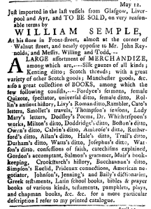 Jun 2 - 6:2:1768 Pennsylvania Journal Supplement