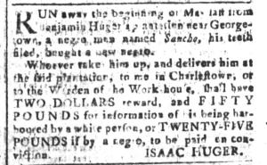 Jun 3 - South-Carolina and American General Gazette Slavery 3