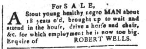 May 13 - South-Carolina and American General Gazette Slavery 5