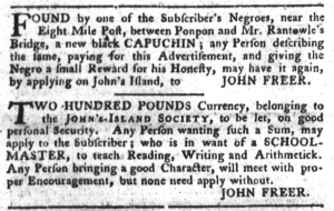 May 17 - South-Carolina Gazette and Country Journal Slavery 4