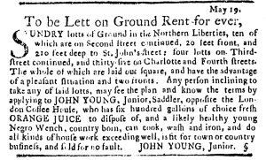 May 19 - Pennsylvania Journal Slavery 1