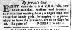 May 20 - South-Carolina and American General Gazette Slavery 3