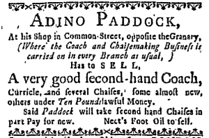 May 22 - 5:19:1768 Massachusetts Gazette
