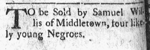 May 23 - Connecticut Courant Slavery 1