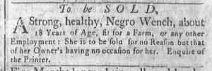 May 23 - Newport Mercury Slavery 1