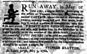May 23 - South Carolina Gazette Slavery 4