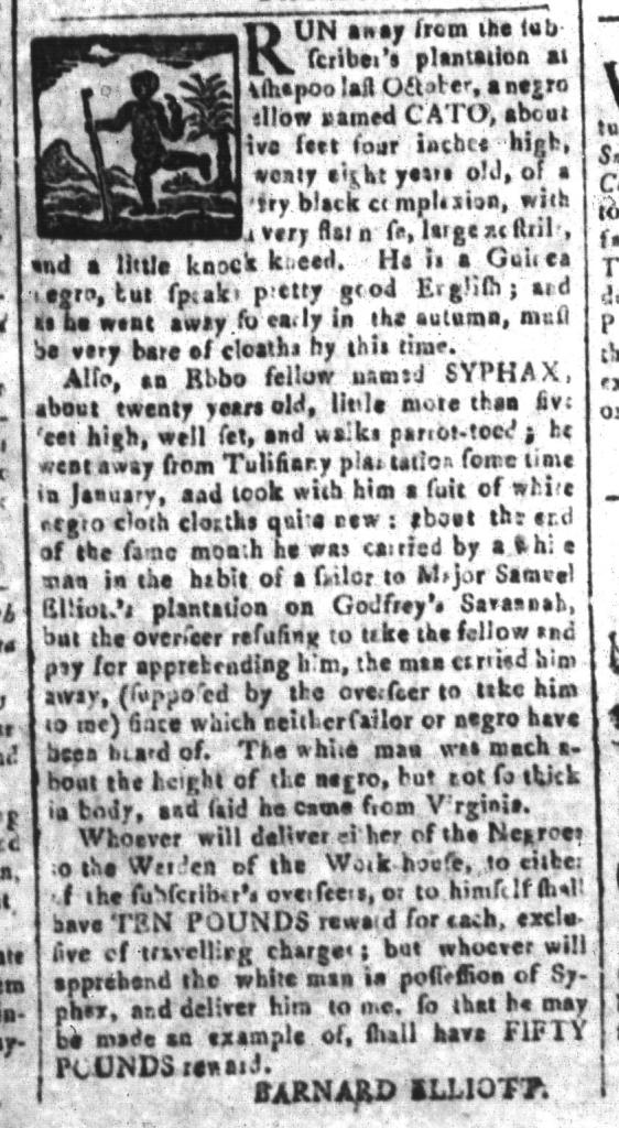 May 27 - South-Carolina and American General Gazette Slavery 10