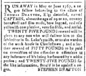 May 27 - South-Carolina and American General Gazette Slavery 4