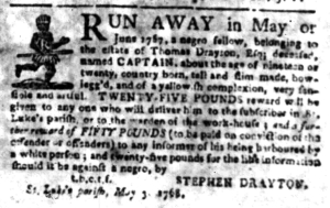 May 30 - South Carolina Gazette Slavery 5