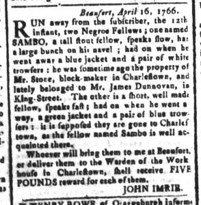 May 6 - South-Carolina and American General Gazette Slavery 6