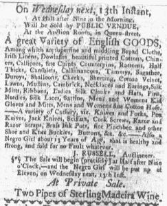 Jul 11 - Boston-Gazette Slavery 3