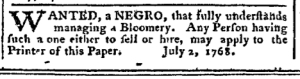 Jul 11 - Pennsylvania Chronicle Slavery 2