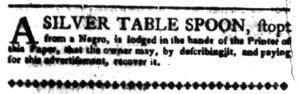 Jul 11 - South-Carolina Gazette Postscript Slavery 7