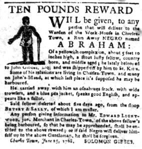 Jul 11 - South-Carolina Gazette Slavery 12
