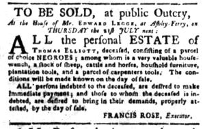 Jul 11 - South-Carolina Gazette Slavery 8