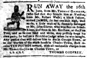 Jul 11 - South-Carolina Gazette Slavery 9