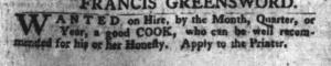 Jul 12 - South-Carolina Gazette and Country Journal Slavery 2