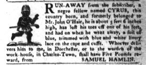 Jul 12 - South-Carolina Gazette and Country Journal Slavery 6