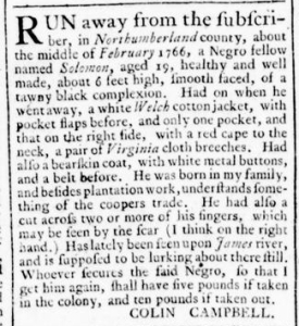 Jul 14 - Virginia Gazette Rind Slavery 4