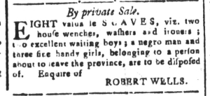 Jul 15 - South Carolina and American General Gazette Slavery 13
