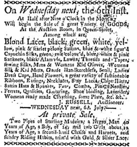 Jul 4 - Boston-Gazette Slavery 1