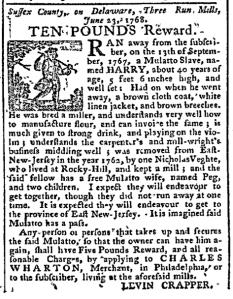 Jul 4 - Pennsylvania Chronicle Slavery 1