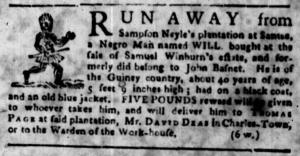 Jul 4 - South-Carolina Gazette Slavery 10