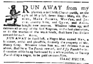 Jul 4 - South-Carolina Gazette Slavery 17