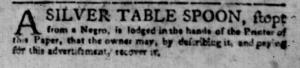 Jul 4 - South-Carolina Gazette Slavery 6