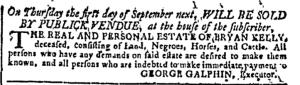Jul 6 - Georgia Gazette Slavery 3