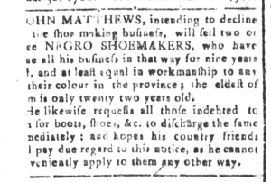 Jun 10 - South-Carolina and American General Gazette Slavery 3