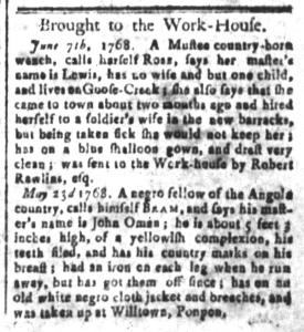 Jun 10 - South-Carolina and American General Gazette Slavery 8