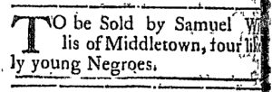 Jun 13 - Connecticut Courant Slavery 1