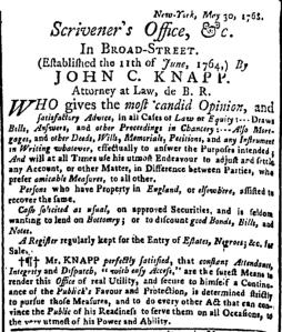 Jun 13 - New-York Gazette Weekly Post-Boy Slavery 2